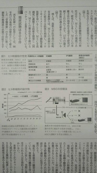大隅典子先生が週刊ダイヤモンド誌で連載中の「大人のための最先端理科」